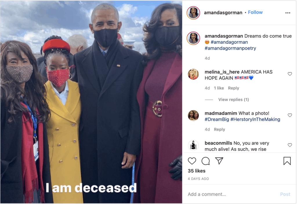 black mother amanda gorman